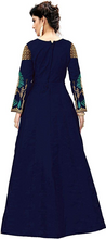 Load image into Gallery viewer, Women's Silk Embroidered Anarkali Long Gown