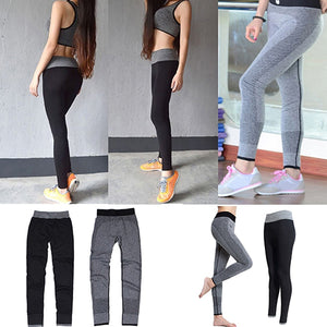MilkySkinForever Women's Casual Elastic Yoga Sports Fitness Exercise Pants Leggings Trousers