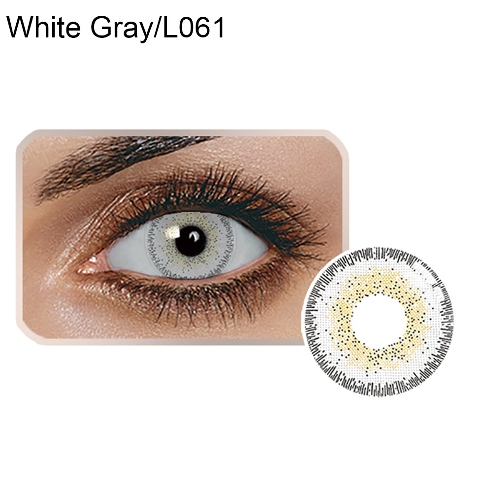 MilkySkinForever  Colored Contacts Lenses Cosmetic Cosplay Party Night Club Makeup Eye Circle Lens