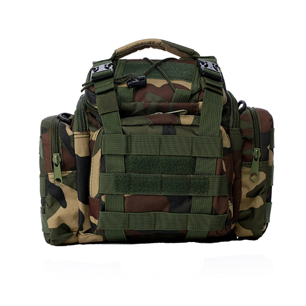 MilkySkinForever Hiking Bum Hip Ruck Sack Tactical Waist Pack Military Molle Pouch Shoulder Bag