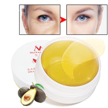 Load image into Gallery viewer, MilkySkinForever 60Pcs/Box Shea Butter Moisturizing Anti-Puffiness Firming Eye Mask Skin Care