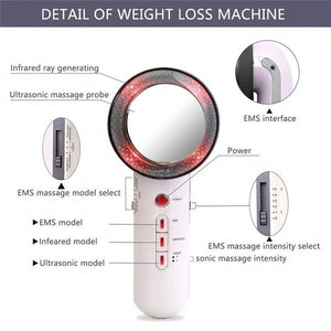 3 in 1 Body Slimming Massager, Weight Loss, Fat Burning, Painless, Infrared Massager