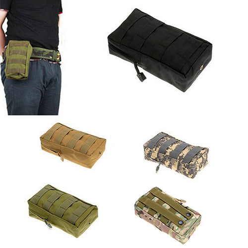 MilkySkinForever 600D Nylon Tactical Molle Utility Bag Camping Hunting Military Combat Vest Pouch