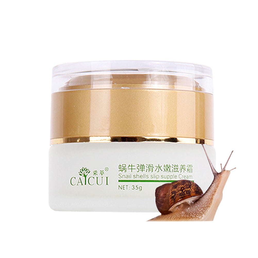 MilkySkinForever 35g Snail All in One Acne Treatment Anti-Wrinkle Moisturizing Face Repair Cream