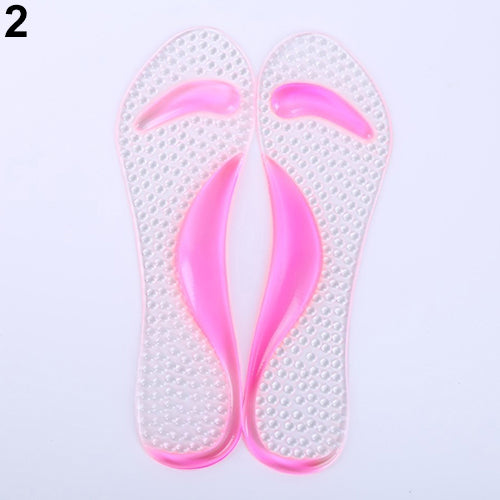 MilkySkinForever Non-Slip Sandals High Heel Arch Cushion Support Silicone Gel Pads Shoes