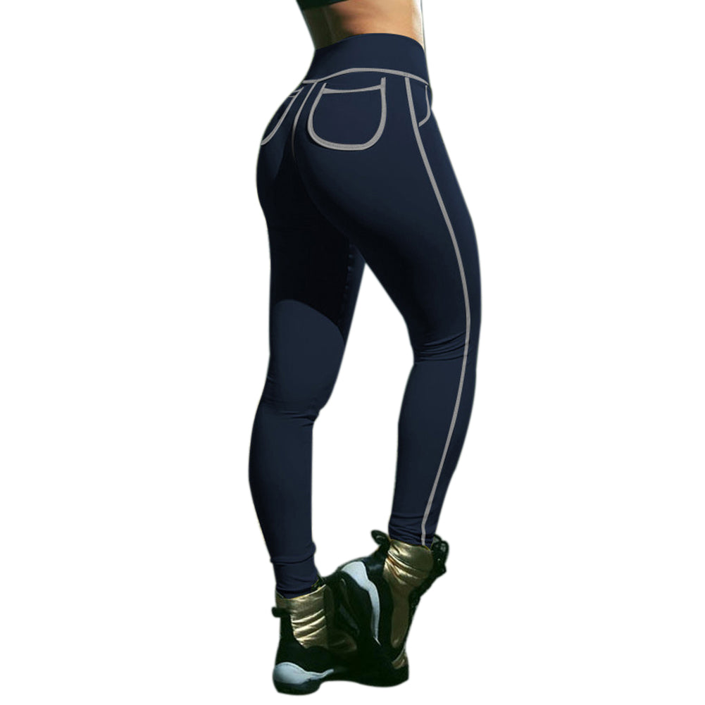 MilkySkinForever Women Fashion Sexy Sports Trousers Gym Fitness Yoga Slim Cotton Leggings Pants