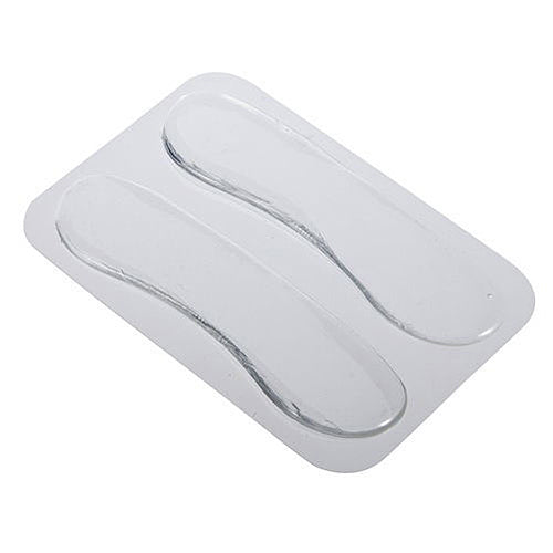 MilkySkinForever 1 Pair Silicone Gel Heel Cushion Protective Foot Care Shoe Insert Pad Insole