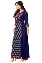 Load image into Gallery viewer, Women's Rayon A-Line Kurti