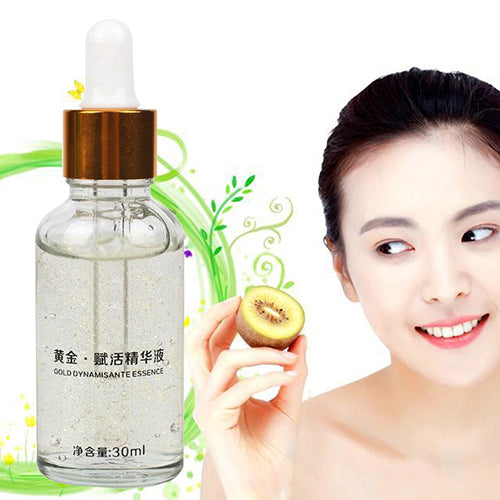 MilkySkinForever 24K Gold Revive Essence Facial Care Powerful Hyaluronic Collagen Anti Wrinkle