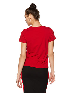Women's Solid Regular Fit Half Sleeve T-Shirt (Combo Pack of 2)