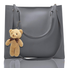Load image into Gallery viewer, PU Leather Latest Stylish Handbags For Women's Ladies Combo Of 3