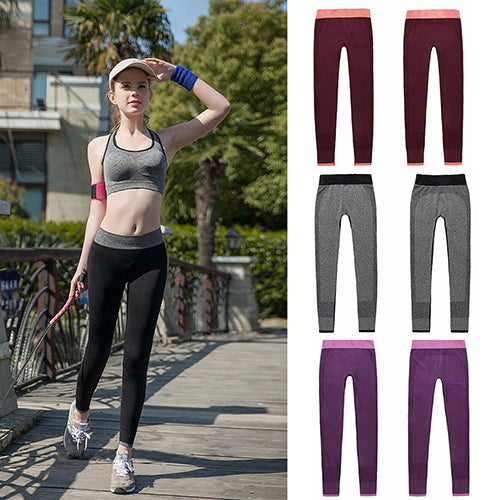 MilkySkinForever Fashion Women Workout Yoga Gym Fitness Stretch Pants Sports Leggings Trousers