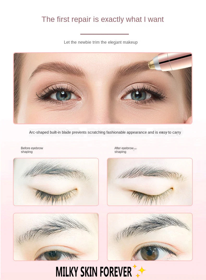MilkySkinForever Eyebrow Maker Without Any Pain
