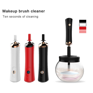 MilkySKinForever Automatic Electric Makeup Brush Cleaner Dryer Set Spinning Clean Quick-drying Make Up Brushes Washing Tool Kit
