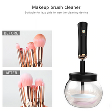 Load image into Gallery viewer, MilkySKinForever Automatic Electric Makeup Brush Cleaner Dryer Set Spinning Clean Quick-drying Make Up Brushes Washing Tool Kit