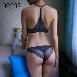 MilkySkinForever Norns women lace lingerie set plus size bra push up beautiful underwear Seamless female front closure bras sexy lingerie set