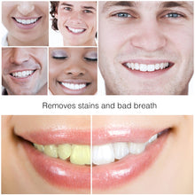 Load image into Gallery viewer, MilkySkinForever Tooth Care Bamboo Toothbrush Natural Activated Charcoal Teeth Whitening Powder