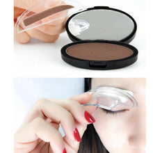Load image into Gallery viewer, MilkySkinForever Portable Eyebrow Powder Easy Makeup Sweatproof Powder Stamp Eyes Cosmetic Eye Brow Powder for Natural Perfect Eyebrow Shape