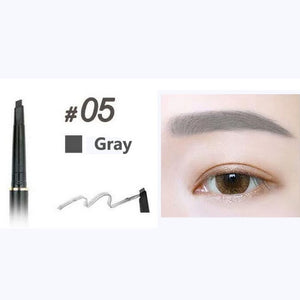 MilkySkinForever Eye Brow Tint Cosmetics Natural Long Lasting Paint Tattoo Eyebrow Waterproof Black Brown Eyebrow Pencil Makeup Set