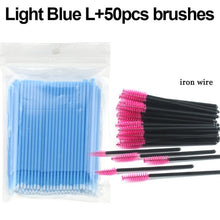 Load image into Gallery viewer, MilkySkinForever 100Pcs/pack Durable Micro Disposable micro brush Individual Lash Removing Tools Swab Micro brushes Eyelash Extension Tools