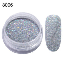 Load image into Gallery viewer, MilkySkinForever 1Box Sugar Nail Powder  Glitter Nail Dust Powder Laser Gradient Nail Pigment  Glitter Nail Art Decoration