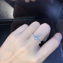 Load image into Gallery viewer, MilkySkinForever New Trendy Crystal Engagement Design Hot Sale Rings For Women White elegant rings Female Wedding Bridal jewelry Gift