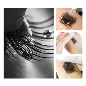 MilkySkinForever Fluffy Volume Mascara Makeup 4D Silk Fiber Lash Mascara Waterproof Rimel 3d Mascara Extension Thick Long Curling Eyelash