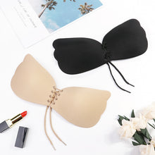 Load image into Gallery viewer, MilkySkinForever Seamless Adhesive Bra Invisible Silicone Backless Bralette Strapless Push Up Bra Sexy Lingerie Fly Bra Women Underwear