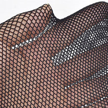 Load image into Gallery viewer, MilkySkinForever Lady Women Sexy Pantyhose Mesh Fishnet Nylon Tights Long Stocking Jacquard Step Foot Seam Pantyhose Stockings lingerie Hosiery