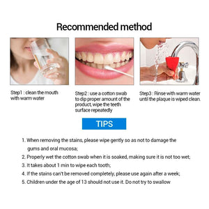 MilkySkinForever Teeth Whitening Essence Powder Oral Hygiene Cleaning Serum Removes Plaque Stains Tooth Bleaching Dental Tools Toothpaste