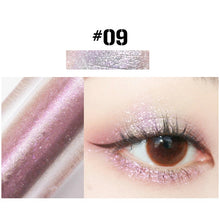 Load image into Gallery viewer, MilkySKinForever 10 Color Diamond Eye Shadow Nude Metal Shimmer Glow Glitter Single Liquid Eyeshadow Makeup Pigment Accessorices Beauty Cosmetics
