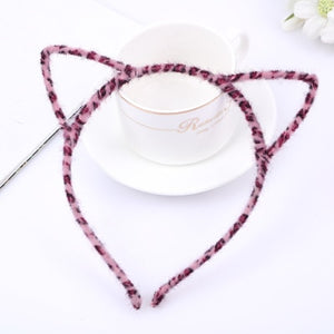MilkySkinForever 1 PCS Stylish Women Girls Cat Ears Headband Accessories Sexy Head Band Multicolor  Styling Tools Headwear