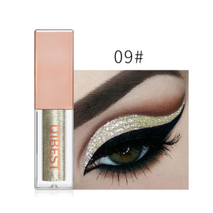 MilkySkinForever 1PC 15Color Liquid Glitter Eyeshadow Pencil Shimmer Eyeshadow Waterproof Long-lasting Shimmer Eyeshadow Eye Makeup Accessorices