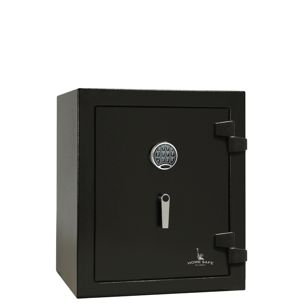 "Home Safe | 08 | 60 Minute Fire Protection | Black | Electronic Lock | Dimensions: 30""(H) x 24.25""(W) x 22""(D)"