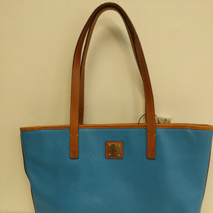 Primary Photo - BRAND: DOONEY AND BOURKE STYLE: HANDBAG LEATHER COLOR: BABY BLUE SIZE: MEDIUM SKU: 305-30511-18384