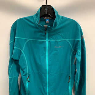 Primary Photo - BRAND: EDDIE BAUER STYLE: JACKET OUTDOOR COLOR: TEAL SIZE: M SKU: 305-30511-19662