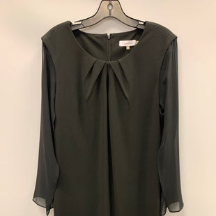 Primary Photo - BRAND: CALVIN KLEIN STYLE: DRESS SHORT LONG SLEEVE COLOR: BLACK SIZE: 16 SKU: 305-30511-19858