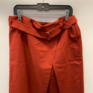 Primary Photo - BRAND: WHITE HOUSE BLACK MARKET STYLE: SKIRT COLOR: RUST SIZE: 12 OTHER INFO: NWT SKU: 305-30549-2250