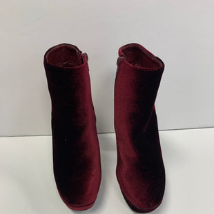 Primary Photo - BRAND: STEVE MADDEN STYLE: BOOTS ANKLE COLOR: BURGUNDY SIZE: 6 SKU: 305-30512-22849