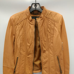 Primary Photo - BRAND: BLACK RIVET STYLE: JACKET LEATHER COLOR: TAN SIZE: M SKU: 305-30511-19987