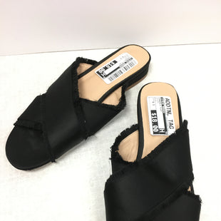 Primary Photo - BRAND: STEVE MADDEN STYLE: SANDALS FLAT COLOR: BLACK SIZE: 6.5 SKU: 305-30511-19556