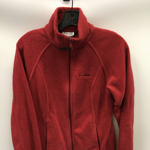 Primary Photo - BRAND: COLUMBIA STYLE: FLEECE COLOR: BRICK RED SIZE: S SKU: 305-30512-27704