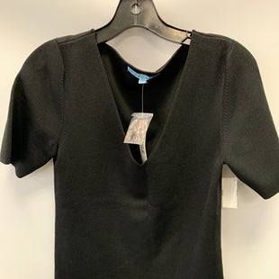Primary Photo - BRAND: ANTONIO MELANI STYLE: SWEATER SHORT SLEEVE COLOR: BLACK SIZE: L OTHER INFO: NWT SKU: 305-30549-2233