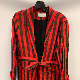 Primary Photo - BRAND:    CLOTHES MENTOR STYLE: BLAZER JACKET COLOR: STRIPED OTHER INFO: LAONDAMIE - RED/BLK SKU: 305-30511-20165