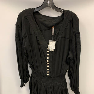 Primary Photo - BRAND: FREE PEOPLE STYLE: DRESS SHORT LONG SLEEVE COLOR: BLACK SIZE: PETITE   SMALL SKU: 305-30511-20163