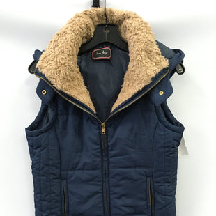 Primary Photo - BRAND:    CLOTHES MENTOR STYLE: VEST DOWN COLOR: NAVY SIZE: M OTHER INFO: LOVE TREE - SKU: 305-30512-27586