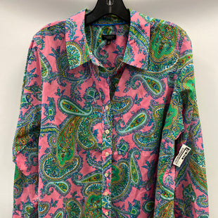 Primary Photo - BRAND: TALBOTS STYLE: BLOUSE COLOR: PAISLEY SIZE: 1X SKU: 305-30527-31627