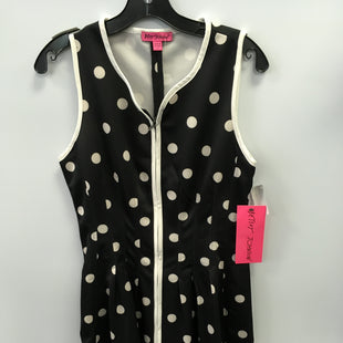 Primary Photo - BRAND: BETSEY JOHNSON STYLE: DRESS SHORT SLEEVELESS COLOR: POLKADOT SIZE: 8 SKU: 305-30512-26702