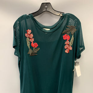 Primary Photo - BRAND: BELLE DU JOUR STYLE: TOP SHORT SLEEVE COLOR: GREEN SIZE: 1X SKU: 305-30549-2397