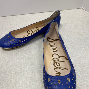 Primary Photo - BRAND: SAM EDELMAN STYLE: SHOES FLATS COLOR: ROYAL BLUE SIZE: 6.5 SKU: 305-30512-26918